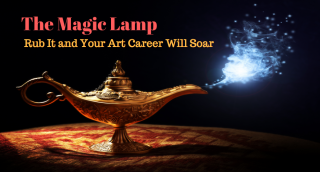 Magic lamp art marketing eric rhoads art marketing.com
